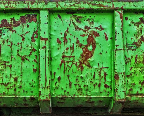 green anti rust paint for metal on container