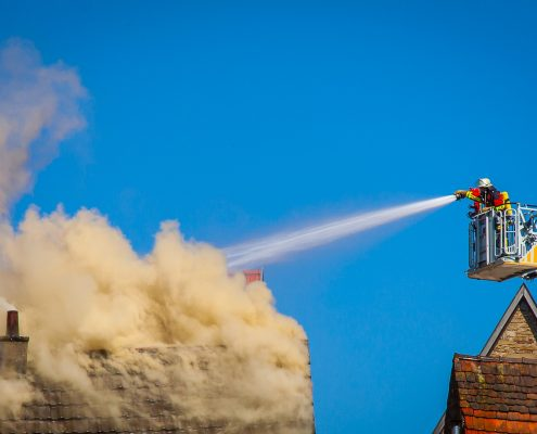 fire resistant paint postponed the fire breaking
